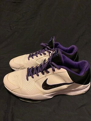 timeless design 06465 7c90b 2010 Nike Zoom KOBE V 5 INLINE WHITE BLACK PURPLE DEL SOL 386429-101 12