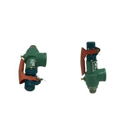 2Pcs Automatic Air Relief Safety Valve Pressure Relief Valve DN20 0.7-1.0MPa