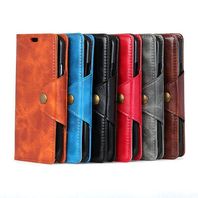 Stand Flip Wallet PU Leather Phone Case For Alcatel 7 5 5V 3 3V 3X 3C 1 1X 1C