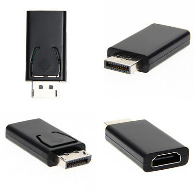 Display Port DP Male To HDMI Female Adapter Swapper Converter For 1080P HDTV NEW