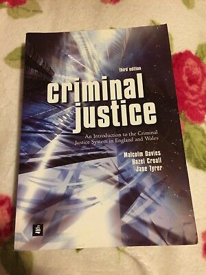 Criminal Justice 3rd Edition. Clean Copy
