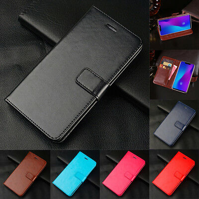 For Xiaomi Redmi Note 7 6 5 Pro 6A Flip Leather Magnetic Wallet Stand Case Cover