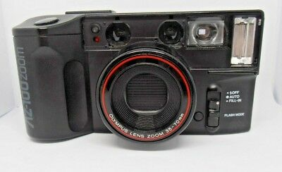 Olympus AZ100 Zoom point n Shoot 35mm film camera