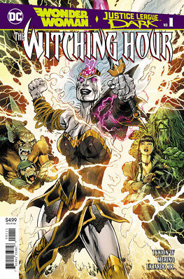 The Witching Hour #1 Wonder Woman Justice League Dark