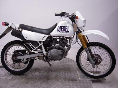 1995 Suzuki DR125SE Djebel Unregistered Jap Import Barn Find Classic To Restore