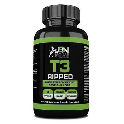 T3 Ripped Extreme Fat Burner (60 Caps) - Eca - Sale!!!!