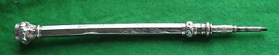 A Hall Marked Silver Edwardian Propelling Pencil