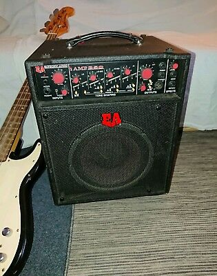 "Euphonic Audio iamp 350 1x10"" coaxial Bass Combo. Used..Awesome Bass tone"