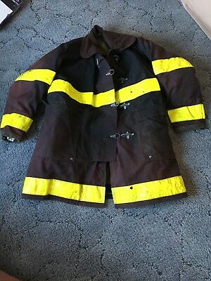 Vintage Globe Firemens Coat With Liner firefighters