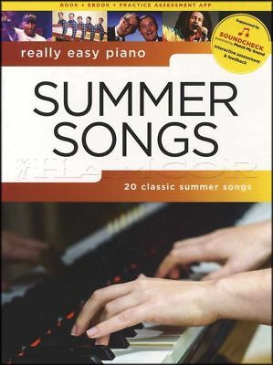 Really Easy Piano Summer Songs Sheet Music Book Beach Boys Bob Marley