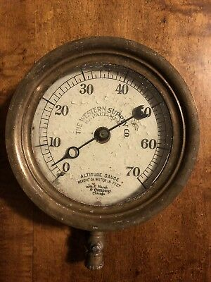The Western Supply Co. Altitude Gauge
