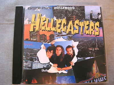 The HELLECASTERS acclaimed 2nd CD- Escape From Hollywd*