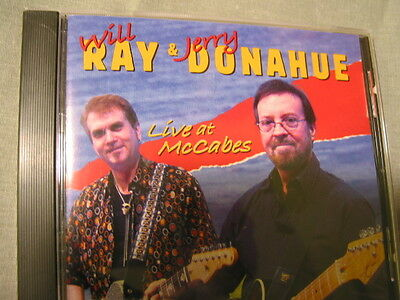 WILL RAY & Jerry Donahue - Live in LA - New CD - Whoa!