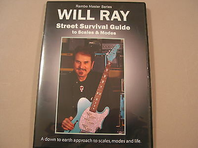 *New* Will Ray Street Survival Guide to Scales-G&L GTRS