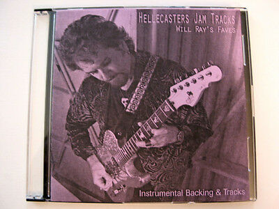 New - Hellecasters Jam Tracks CD - Whoa, Baby!