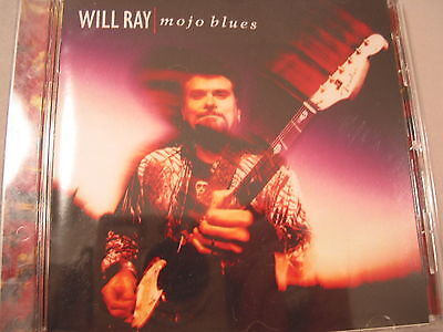 "WILL RAY ""MOJO BLUES"" CD - G&L's & Fenders everywhere! **"
