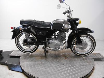 1968 Honda CA160 Unregistered US Import Barn Find Classic Restoration Project