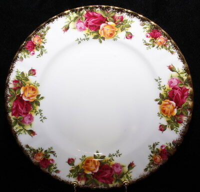 Royal Albert Old Country Roses Salad Plates - Made in England 1962