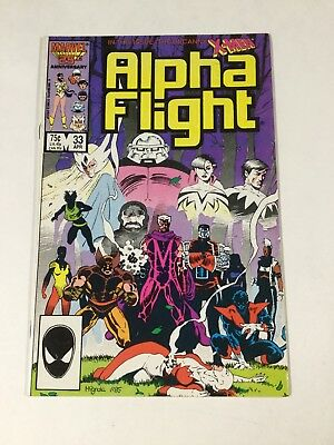 Alpha Flight 33 Nm Near Mint First Lady Deathstrike Marvel Copper Age