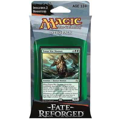 MTG FATE REFORGED * Fate Reforged Intro Pack - Surprise Attack (Temur)