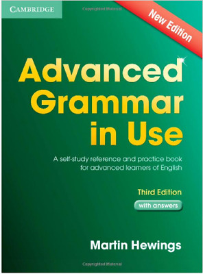 Advanced Grammar in Use Book with Answers and CD-ROM : A Self-Study Reference