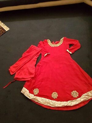 Red Anakali/Asian Party Wear