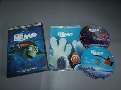 Disney Pixar FINDING NEMO Special 2 Disc DVD Edition Animated Kids Movie Series