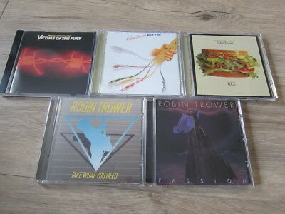 Robin Trower 5CD Set Back It Up B.L.T. Victims Of The Fury Passion Take What You