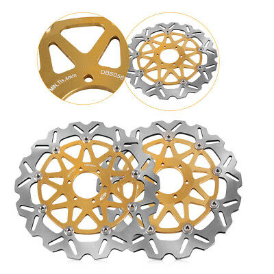 Front Brake Disc Rotors for BMW G 650 X Moto 650 2007 2008 2009 Gold New