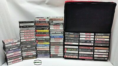 Lot of (98) Cassette Tapes Music Metal Rock Hair Bands Other 80's 90's