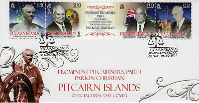 Pitcairn Islands 2011 Parkin Christian First Day Cover Superb