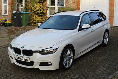 BMW 318D M-Sport Touring - White - Black Leather - 2015 - F31
