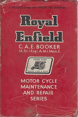 Royal Enfield Re Ensign Prince Bullet Clipper Meteor Crusader '37- Repair Manual