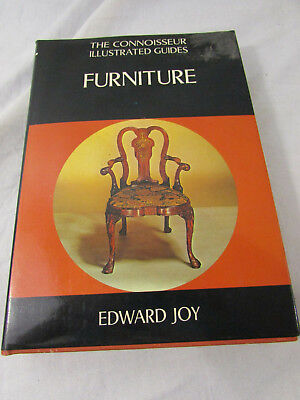 The Connoisseur Illustrated guides Furniture by Edward Joy Hardcover 1972