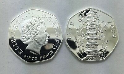 2009 Kew Gardens 50p Coin Uncirculated Very Rare And Collectable (See Details)
