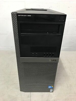 Dell Optiplex 980 Tower PC Intel Core i7-880 @3.07Ghz 8GB MEM 500GB HDD Nvidia