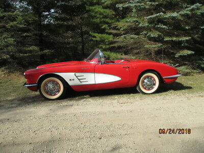 1959 Chevrolet Corvette  !959 Corvette - was factory 290hp Fuel Injection - I have owned for 35 years