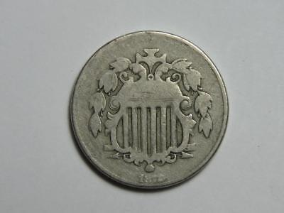 1872 Shield Nickel - US Coin