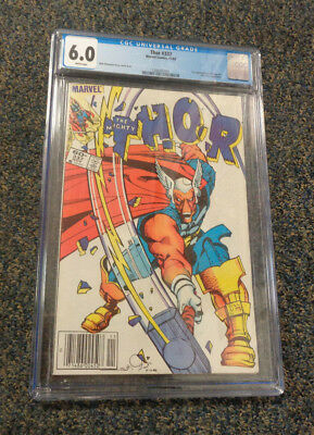 The Mighty Thor #337 Marvel Comics Copper Age 1St Beta Ray Bill Cgc Graded 6.0