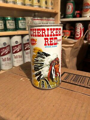 """Canfield's """"cherikee Red Soda"""" Ss Soda Can"""