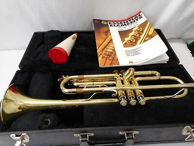 Selmer Bundy Trumpet Designed By Vincent Bach With Case Great Student Trumpet