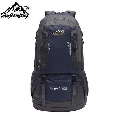 Brand 60L Outdoor Hiking Bag Camping Travel Waterproof Mountaineering Backpack F