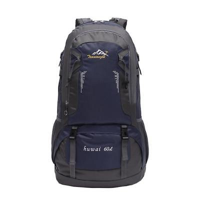 60L Pro Outdoor Hiking Bag Camping Travel Waterproof Mountaineering Backpack  Ou