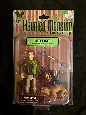 Disney Parks Haunted Mansion Caretaker Action Figure  New in Box