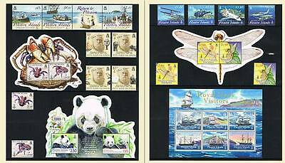 Pitcairn Islands 2009 Full Year Commemorative Issues Mnh