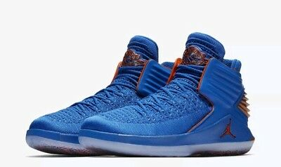 23a5062822a Nike Air Jordan XXXII 32 Mens Size 13 AA1253-400 Russell Westbrook Why Not  Blue