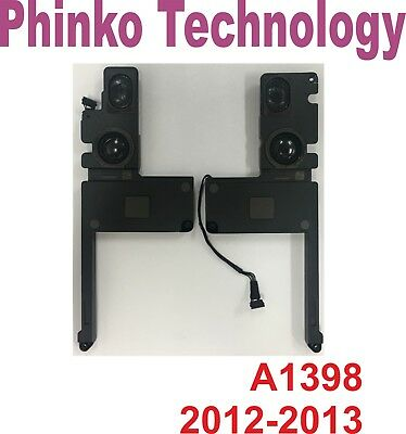 """Internal Speaker Left and Right for Macbook Pro 15"""" A1398 2012 2013"""