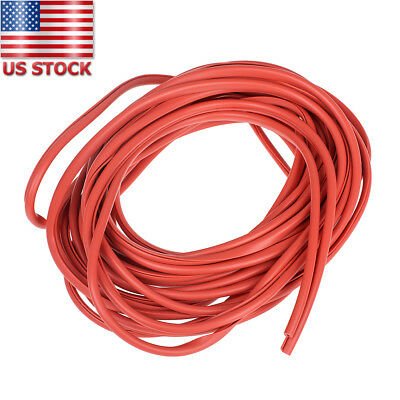 32FT / 10M Red Moulding Trim Rubber Strip Car Door Scratch Protector Edge Guard