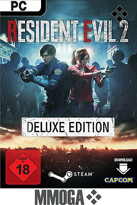 Resident Evil 2 Remake Deluxe Edition - PC Spiel Code - STEAM Key NEU [DE/EU]