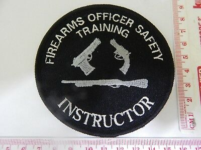 WA Police Firearms Officer Safety Training Instructor Very rare